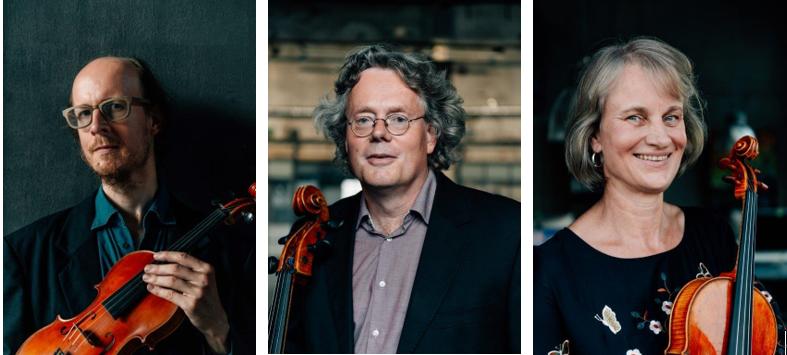 Mitglieder des Kairos Quartetts